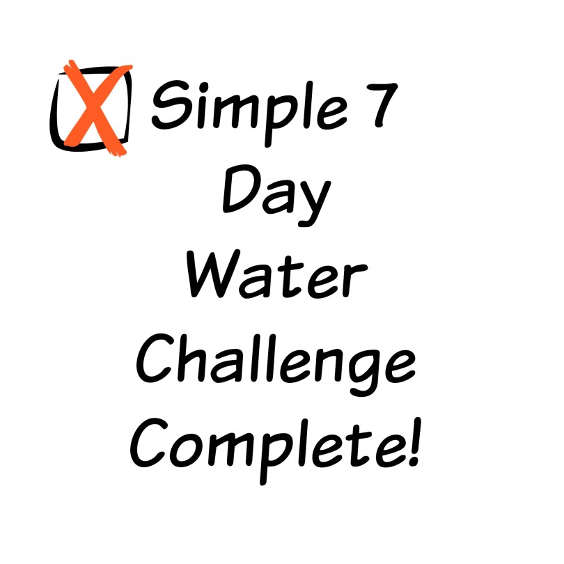 Water Challenge Results and Tips!